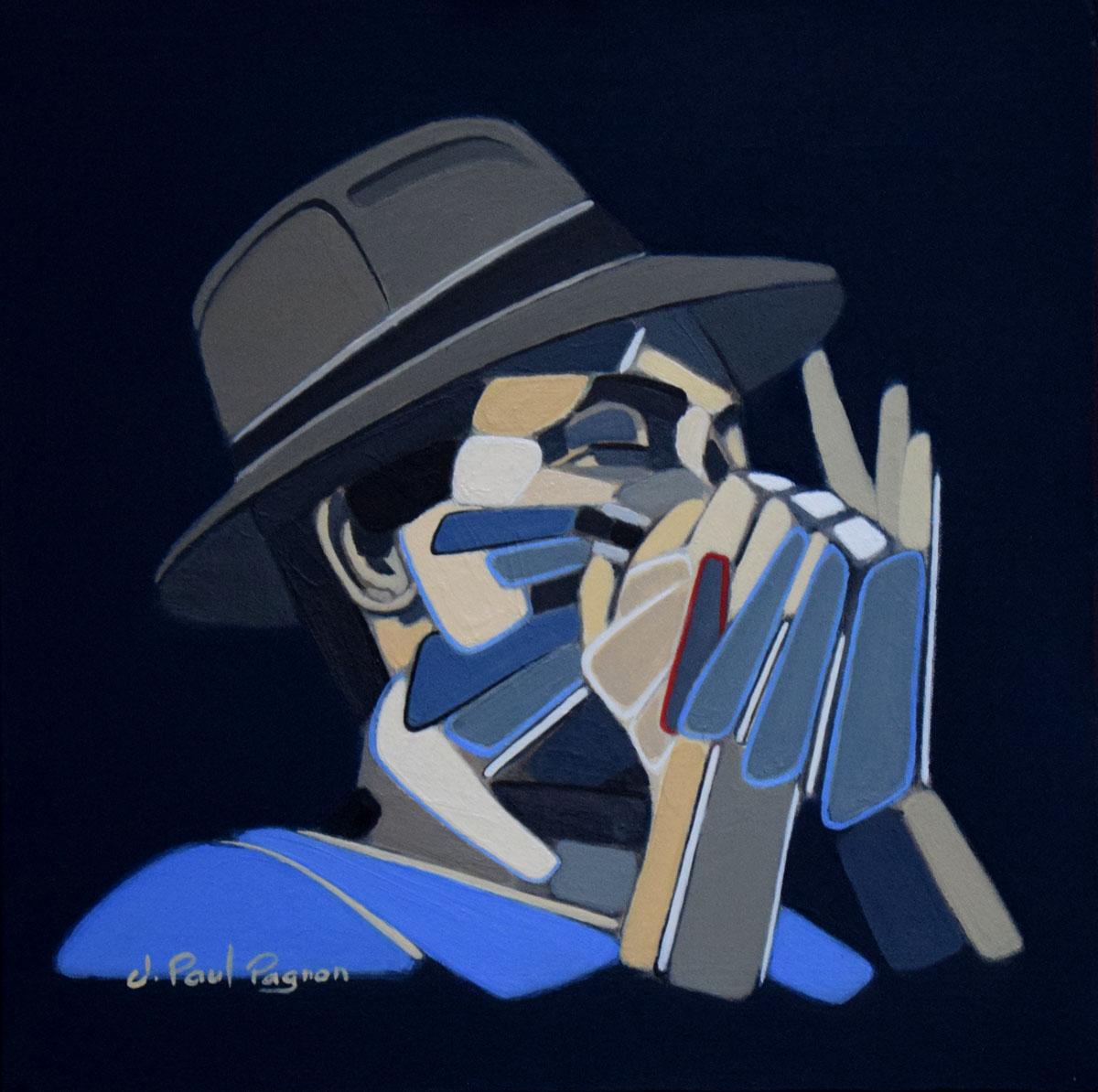Blue Shuffle par Jean-Paul Pagnon