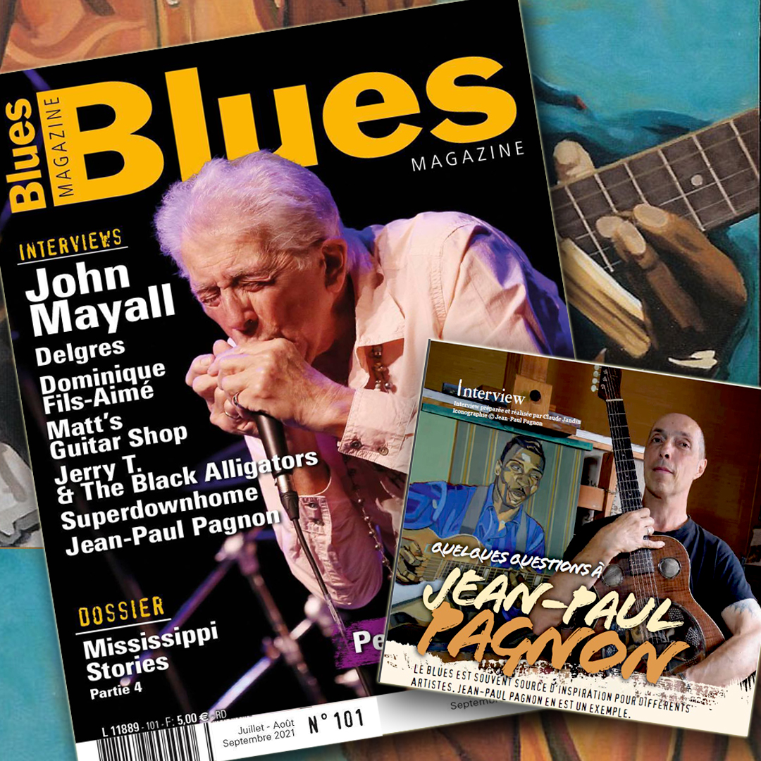blues magazine jean-paul pagnon