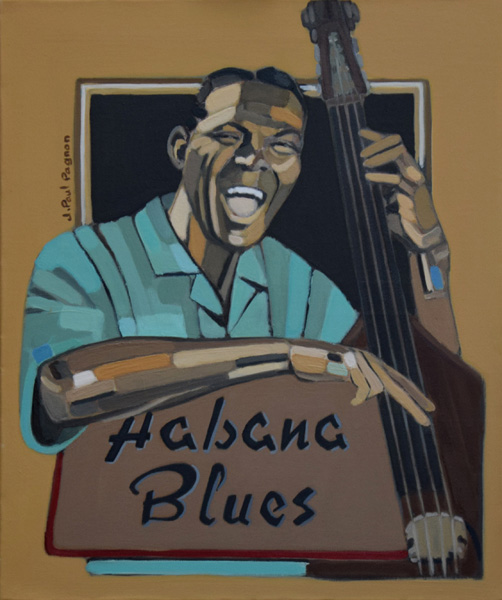Habana Blues peinture jean-paul pagnon