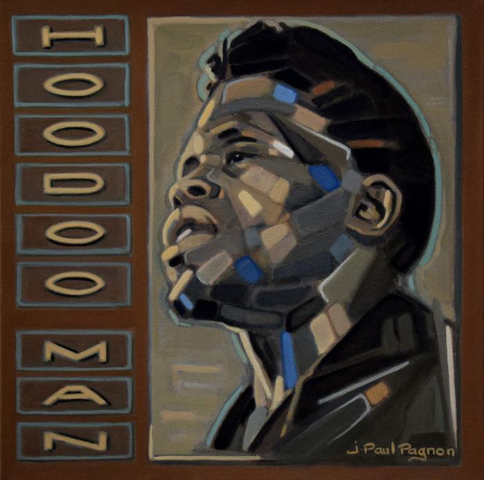 Hoodoo man peinture Jean-paul pagnon