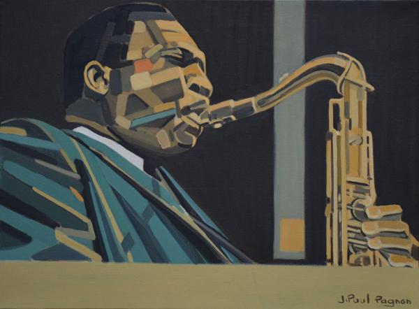 IMPRESSION Peinture Jean-Paul Pagnon
