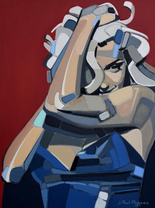 Madonna peinture Jean-Paul Pagnon