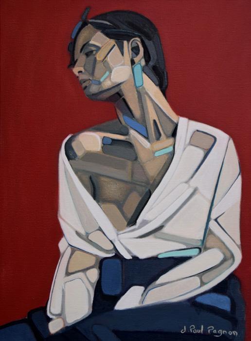 Saudade peinture Jean-Paul Pagnon