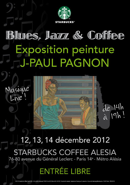j-paul pagnon peintures starbucks coffee