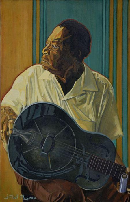 The soul of a man peinture Jean-Paul Pagnon