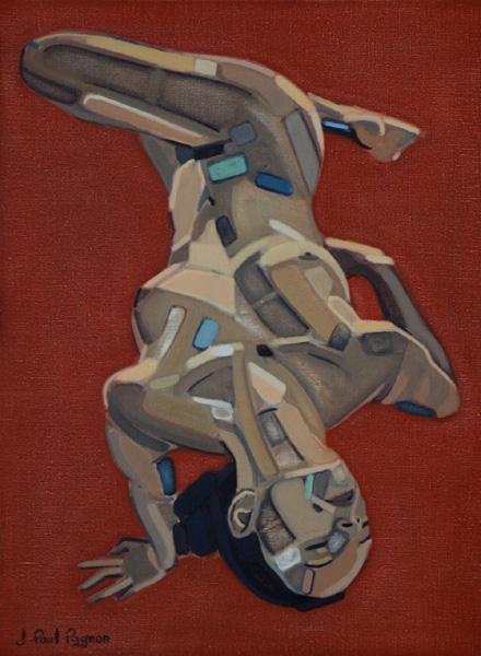 Unchain my heart peinture Jean-Paul Pagnon